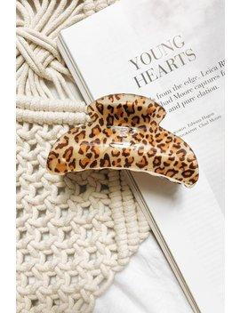 Real Woman Hair Clip // Leopard by Vergegirl