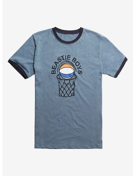 Beastie Boys Atwater Basketball Association Ringer T Shirt by Hot Topic