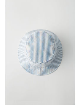 Bucket Hat Blue/White by Acne Studios