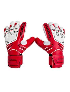 Youth&Adult Goalie Goalkeeper Gloves,Strong Grip For The Toughest Saves, With Finger Spines To Give Splendid Protection To Prevent Injuries,3 Colors by Sportout
