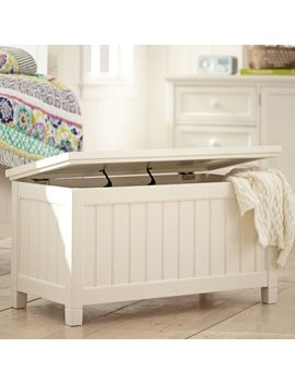 Beadboard End Of Bed Trunk by P Bteen