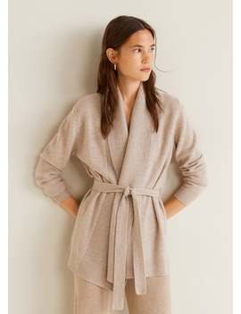 100 Percents Cashmere Cardigan by Mango