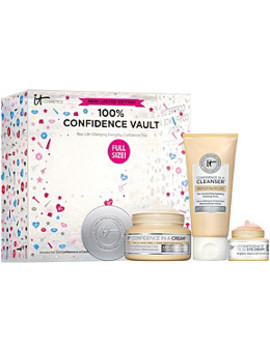 100 Percents Confidence Vault Skincare Trio by It Cosmetics