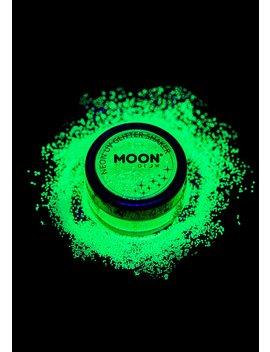 Neon Green Uv Glitter Shaker by Moon Creations