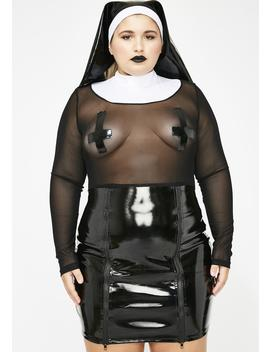 Baddie Mama Don't Preach Costume by Dolls Kill