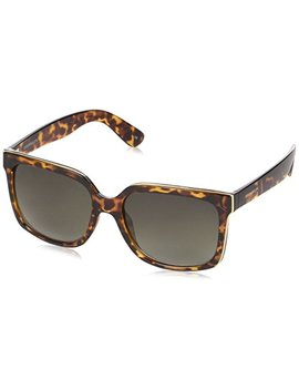 Karen Millen Sunglasses Women's Km5014, Brown, 56 by Karen Millen Sunglasses