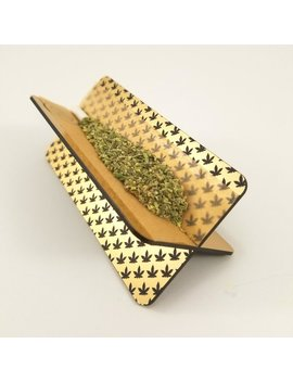 Personalized Gold Rolling Tray, Weed Rolling Stand, Blunt Rolling Tray, Weed Accessories, Marijuana Gadgets, Stoner Gift by Etsy