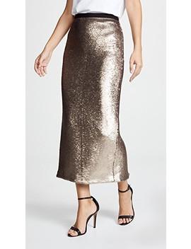 Sequin Paula Skirt by Cinq A Sept