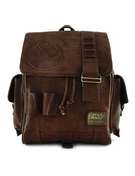 Loungefly X Star Wars: The Force Awakens Rey Faux Leather Backpack by Loungefly