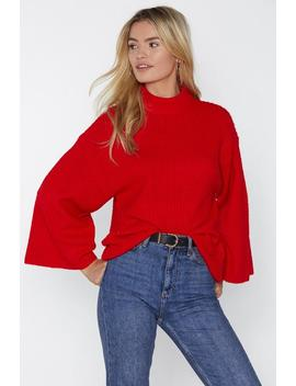 Somebody To Love Sweater by Nasty Gal