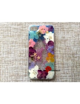 Genuine Pressed Dried Flower Samsung / Iphone Case   Crystal Clear Case by Etsy