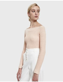 Distend Rib Knit Sweater by Rachel Comey