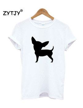 Chihuahua Dog Print Women Tshirt Casual Cotton Hipster Funny T Shirt For Girl Top Tee Tumblr Drop Ship Ba 172 by Zytjy