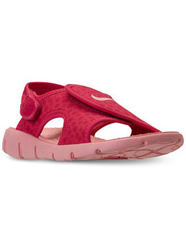 Little Girls' Sunray Adjust 4 Sandals From Finish Line by Nike