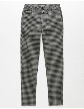 Scissor Plaid Girls Stretch Pants by Scissor