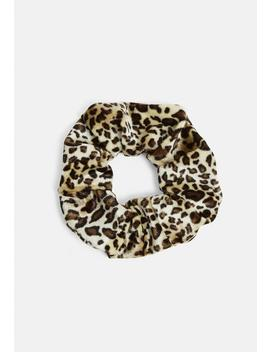 Leopard Print Scrunchie by Missguided