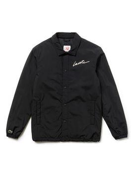 Men's Lacoste Live Lacoste Signature Taffeta Jacket by Lacoste