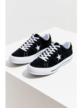 Sneaker One Star Ox Converse En Suède by Voir Plus De Converse