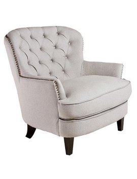 Best Selling Tufted Fabric Club Chair by Best Selling