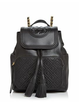 Fleming Leather Backpack by Tory Burch