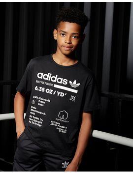 Adidas Originals Kaval T Shirt Junior by Jd Sports