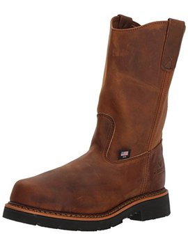 Thorogood Men's Wellington Safety Toe Work Boot by Thorogood