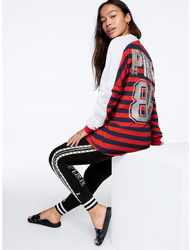 Bling Varsity Crew Long Sleeve by Victoria's Secret