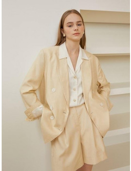 Row Jacket Yellow by Grove