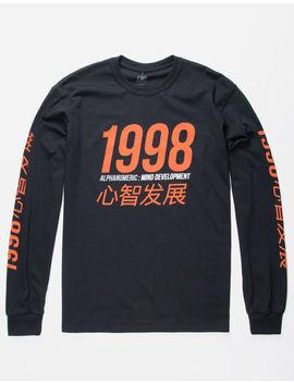Alphanumeric Mind Develop Mens T Shirt by Alphanumeric