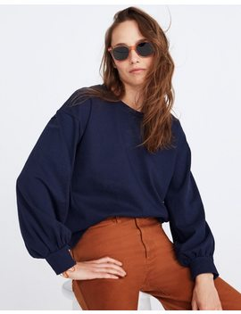 Chord Bubble Sleeve Top by Madewell
