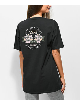 Vans No Club Black Oversized T Shirt by Vans