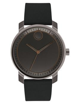 Bold Leather Strap Watch, 41mm by Movado