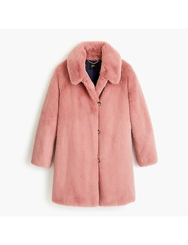 Faux Fur Coat by J.Crew