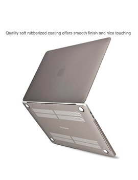Pro Case Mac Book Pro 13 Case 2018 2017 2016 Release A1989 A1706 A1708, Hard Case Shell Cover And Keyboard Skin Cover For Apple Mac Book Pro 13 Inch With/Without Touch Bar And Touch Id  Crystal by Pro Case