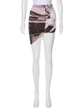 Kimberly Ovitz Printed Mini Skirt by Kimberly Ovitz