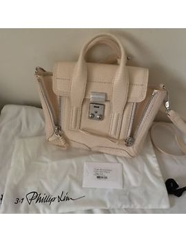Authentic 3.1 Phillip Lim Mini Pashli In White Peach/Pink Excellent Condition by 3.1 Phillip Lim