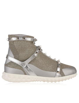 Rockstud Sock Trainers by Valentino