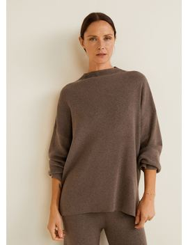 Ribbed Soft Sweater by Mango