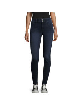 Arizona High Rise Skinny Fit Jeggings Juniors by Arizona