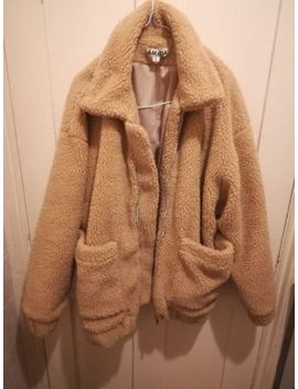 Teddy Coat Shearling Bomber Jacket by Ebay Seller
