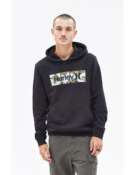 Hurley Surf Check Flamingo Pullover Hoodie by Pacsun