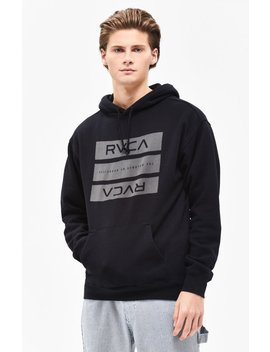 Rvca Bars Pullover Hoodie by Pacsun