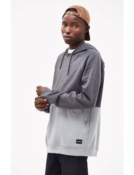 Hurley Crone Blocked Pullover Hoodie by Pacsun