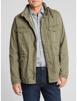 Fatigue Jacket In Cotton by Gap