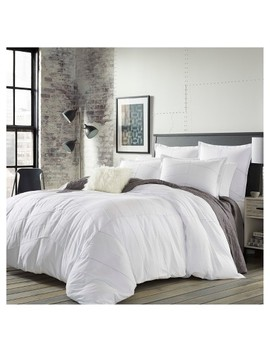 White Courtney Comforter Set   City Scene® by Shop Collections