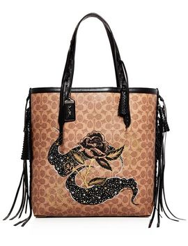 1941 Tattoo Embellished Tote by Coach 1941