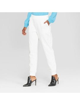 Women's Pull On Track Ankle Pants   Who What Wear™ by Who What Wear