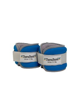 Thera Band Comfort Fit Ankle & Wrist Cuff Wrap Walking Weight Set, Adjustable Wrist And Ankle Weights For Home Workout, Ankle Strengthening & Toning... by Thera Band