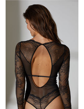 Lace Thong Bodysuit by H&M