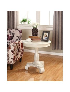 Crown Mark Constance Round End Table & Reviews by Crown Mark